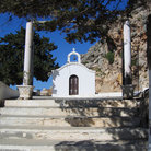 Picture - Chapel at Lindos.