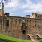 Picture - The Royal Palace at Linlithgow.