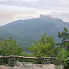 Picture - The lookout from Table Rock Mountain in the Linville Gorge Area.