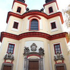 Picture - A uniquely designed church in Litomysl.