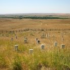 Picture - Little Bighorn Battlefield, Montana.
