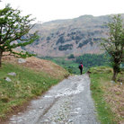 Picture - Hiking in Little Langdale on the path from Tilberthwaite.
