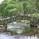 Picture - The Packhorse Bridge at Little Langdale.