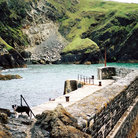 Picture - Mullion Cove on The Lizard Peninsula.
