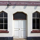 Picture - Entrance to the Llanfairpwllgwyngyll Train Station.