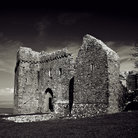 Picture - Ruins of the Weobley Castle on the Gower Peninsula.