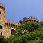 Picture - The old castle in Lloret de Mar.