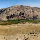 Picture - A panoramic view over the Lluta Valley.
