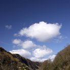 Picture - Clouds over the Pass of Brander.
