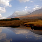 Picture - Reflections in Loch Etive.