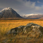 Picture - Mountain scenery at Glen Etive.