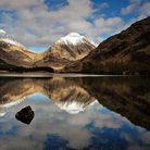 Picture - Calm day at Glen Etive.