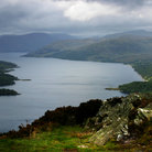 Picture - View across Loch Katrine.