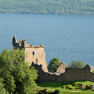 Picture - The Urquhart Castle at Loch Ness.