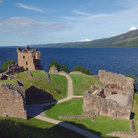 Picture - Urquhart Castle on Loch Ness.