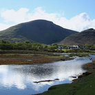 Picture - Hill overlooking Lochranza on the Isle of Arran.