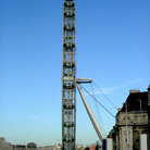 Picture - London Eye side view.