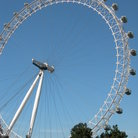 Picture - The London Eye on a clear day in London.