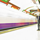 "Picture - ""The Tube"", underground system in London."