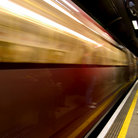 Picture - Train in the London Underground.