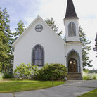 Picture - Center Church on Lopez Island, San Juan Islands, Washington.