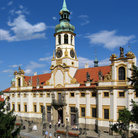 Picture - The Loreta church in Prague.