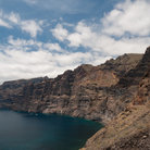 Picture - The famous cliffs of Los Gigantes on Tenerife.