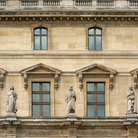 Picture - Facade of the Louvre, Paris.