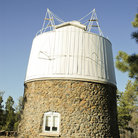 Picture - Astronomical telescope at the Lowell Observatory.