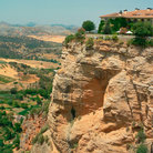 Picture - Cliffs of Ronda and Ronda Canyon.