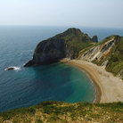 Picture - Beautiful beach at Lulworth.