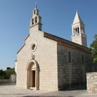 Picture - The Church of Saint Roch in Lumbarda on Korcula island.