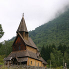 Picture - Urnes Stave Church.