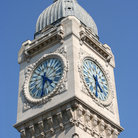 Picture - Clock tower at Gare de Lyon, in Paris.