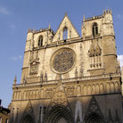Picture - Exterior of St Jean Cathedral in Lyon.
