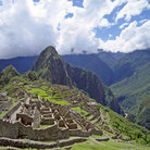 Picture - Huayna Picchu & overview of major temples in Machu Picchu.