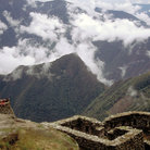 Picture - View from the Inca Trail to Machu Picchu.