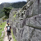 Picture - Walking on the Inca Trail.