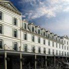 Picture - Old hotel on Mackinac Island.