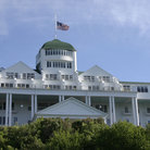 Picture - The Grand Hotel on Mackinac Island.