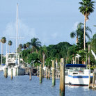 Picture - Boats at Boca Ciega Bay, Madeira Beach.