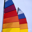 Picture - Colorful Sails Madeira Beach.