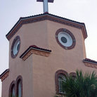 Picture - Church by the sea at Madeira Beach.