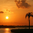 Picture - Sunrise at Boca Ciega Bay, Madeira Beach.