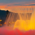 Picture - Magic Fountain at Paulau National in Barcelona.