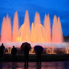 Picture - The Magic Fountain at night in Barcelona.