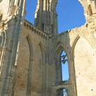 Picture - Ruins of the Maillezais abbey.