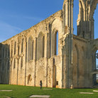 Picture - Ruins of the abbey at Maillezais.