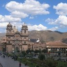 Picture - Plaza de Armas & hills of Cusco.