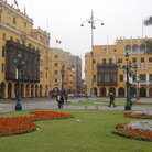 Picture - Plaza de Armas in Lima.